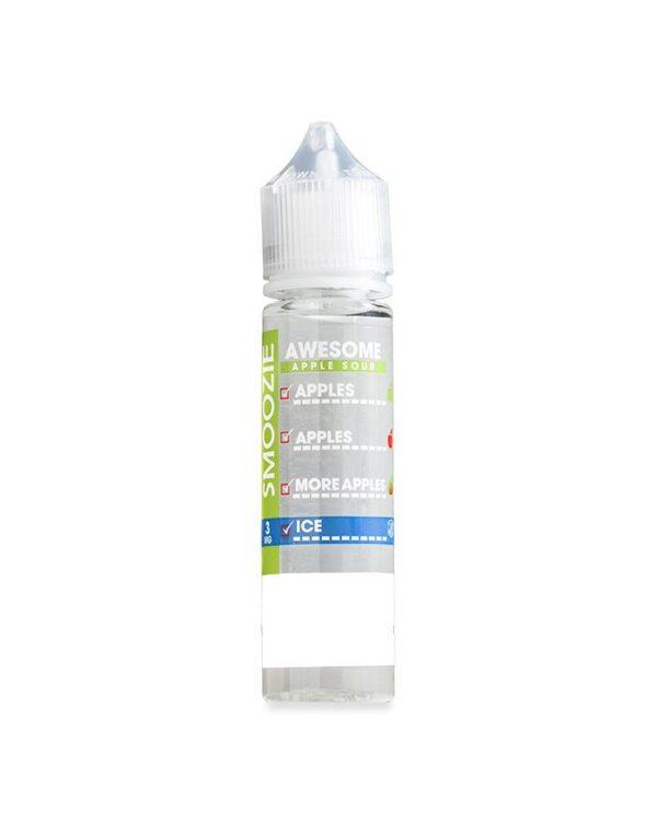 Awesome Apple Sour ICE 60ml-E-Liquid-Vape Distribution Australia